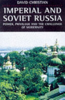 Cover of Imperial and Soviet Russia