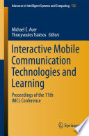 Interactive Mobile Communication Technologies And Learning