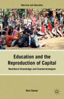 Education and the Reproduction of Capital Book