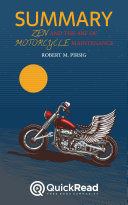 Zen and the Art of Motorcycle Maintenance by Robert M. Pirsig (Summary) [Pdf/ePub] eBook