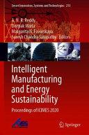 Intelligent Manufacturing and Energy Sustainability
