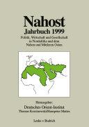Nahost Jahrbuch 1999