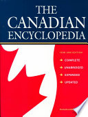 The Canadian Encyclopedia Book