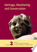 Heritage  Weathering and Conservation  Two Volume Set