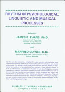 Rhythm in Psychological  Linguistic  and Musical Processes