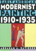 Early American Modernist Painting 1910 1935