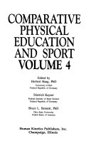 Comparative Physical Education And Sport Volume 4 Book PDF