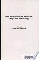 Gender and Witchcraft