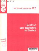 NBS Special Publication