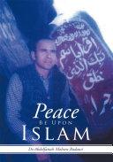 Peace Be Upon Islam