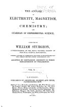 Pdf The Annals of Electricity, Magnetism, and Chemistry; and Guardian of Experimental Science