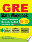 GRE Math Workbook 2018   2019 Book