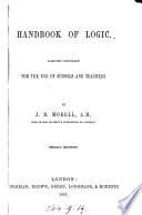 Handbook of Logic