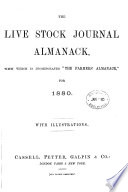 The Live Stock Journal Almanack And Year Book Afterw The Live Stock Journal Annual