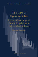 The Law of Open Societies
