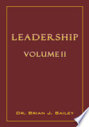 Leadership Volume 2 Book
