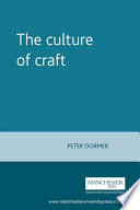 """The Culture of Craft"" by Peter Dormer"