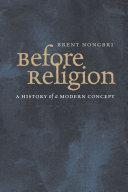 Before Religion Pdf/ePub eBook