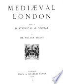 Medieval London PDF