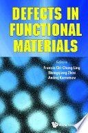 Defects In Functional Materials Book PDF