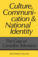 Culture, Communication, and National Identity