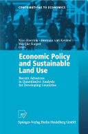 Economic Policy and Sustainable Land Use [Pdf/ePub] eBook
