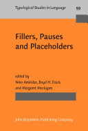 Pdf Fillers, Pauses and Placeholders Telecharger
