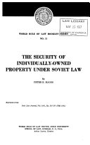 World Rule Of Law Booklet Series