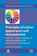 Principles of Colour and Appearance Measurement  Object Appearance  Colour Perception and Instrumental Measurement