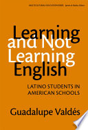 Learning and Not Learning English