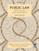 Public Law: Text, Cases, and Materials - Seite 286
