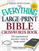 The Everything Large-Print Bible Crosswords Book