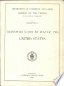 Transportation by Water  1906