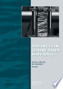 Advances in Cement Based Materials Book