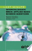 Last Minute Intercollegiate MRCS Applied Basic Science Questions