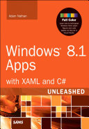 Windows 8. 1 Apps with XAML and C# Unleashed