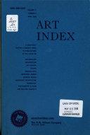 Art Index Retrospective