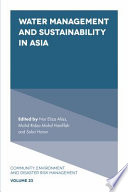 Water Management and Sustainability in Asia