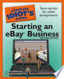 The Complete Idiot S Guide To Starting An Ebay Business 2nd Edition