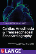 Cardiac Anesthesia and Transesophageal Echocardiography Book