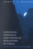 Language, Ontology, and Political Philosophy in China