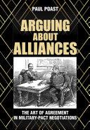 Arguing about Alliances