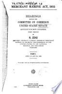 Merchant Marine Act, 1935