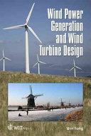Pdf Wind Power Generation and Wind Turbine Design