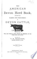 The American Devon Herd Book