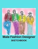Male Fashion Designer SketchBook