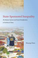 State Sponsored Inequality