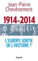 L'Europe sortie de l'Histoire ?