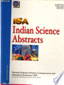 Indian Science Abstracts  , Volume 46,Edições 9-12