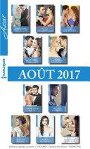 10 romans Azur + 1 gratuit (no3855 à 3864 - Aout 2017)
